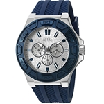 Guess U0674G4 Sporty Blue Silicone