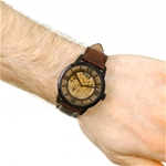 Townsman Automatic Brown Skeleton Dial Men's Watch