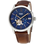 Townsman Automatic Blue Satin Dial Men's Watch