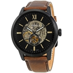 Townsman Automatic Black Skeleton Dial Men's Watch