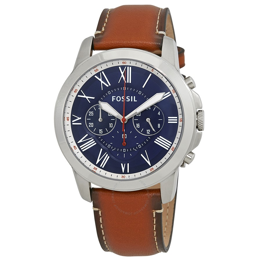 Grant Chronograph Navy Blue Dial Men's Watch