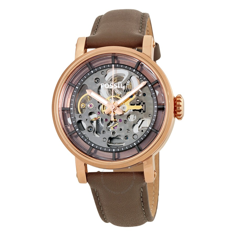 Original Boyfriend Automatic Skeleton Dial Ladies Watch