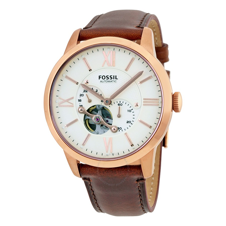 Townsman Beige Dial Automatic Men's Watch